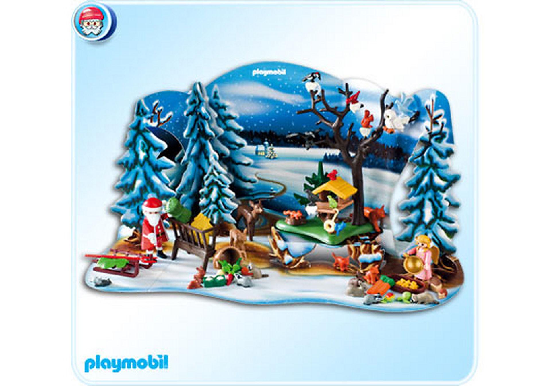 4166-A Adventskalender Weihnacht der Waldtiere zoom image1