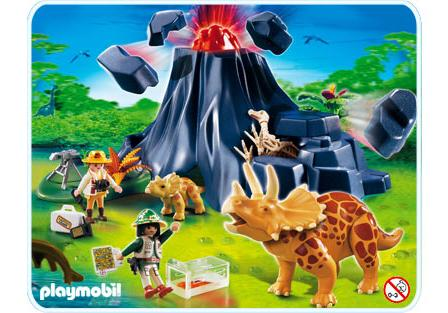 http://media.playmobil.com/i/playmobil/4170-A_product_detail/Triceratops mit Baby und Vulkan