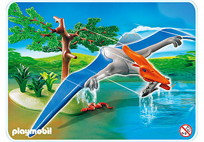 4173-A Pteranodon detail image 1