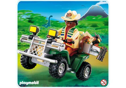 PLAYMOBIL DINO QUADS 4176  MIT FIGUREN UND ZUBEHÖR Playmobil Abenteuer
