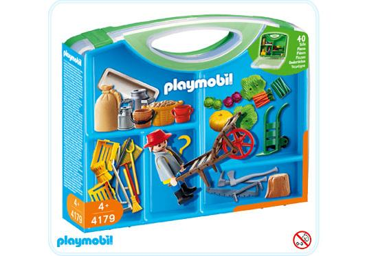 valisette fermier accessoires 4179 a playmobil france. Black Bedroom Furniture Sets. Home Design Ideas