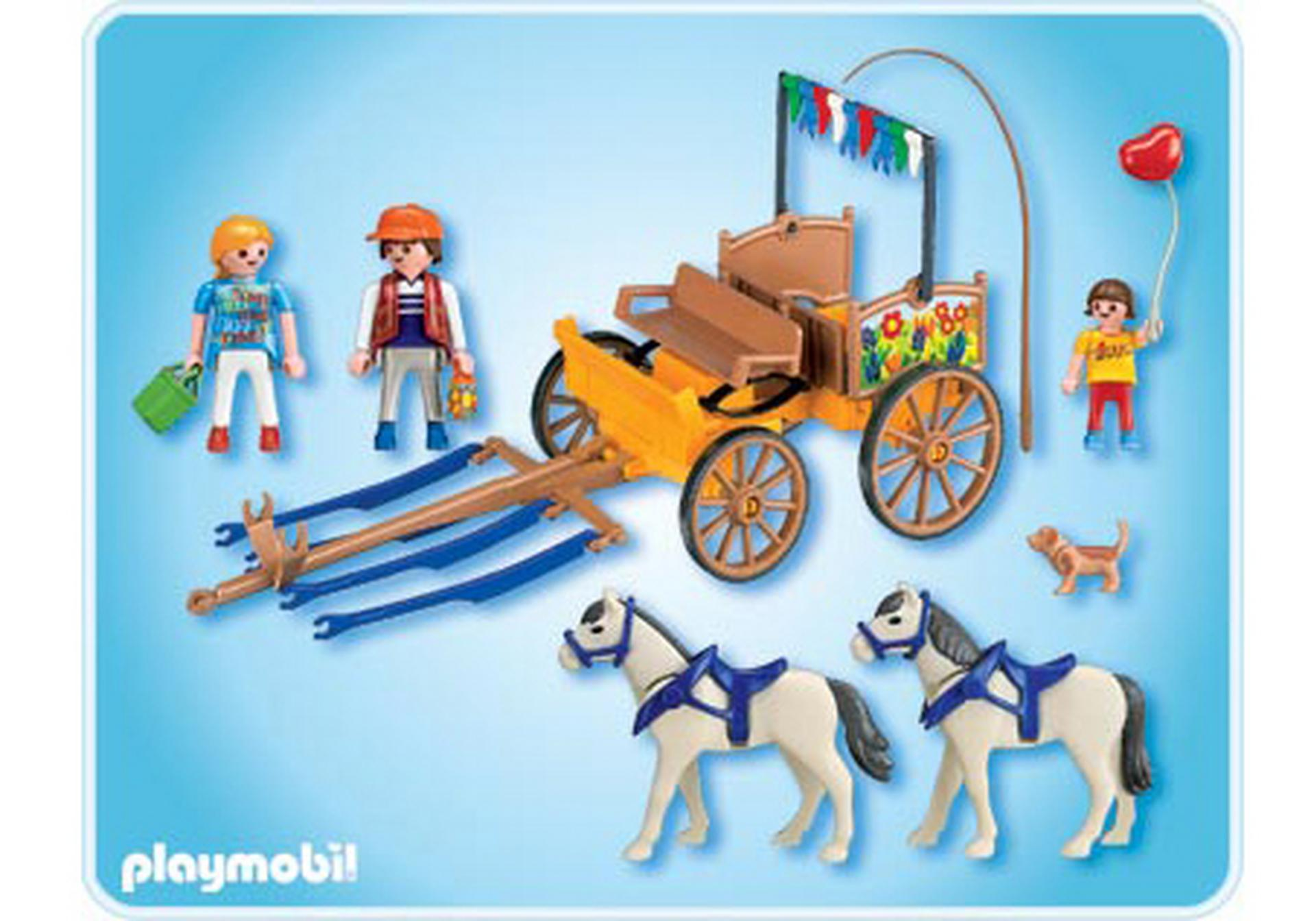 Horse carriage 4186 a playmobil - Playmobil kutsche ...