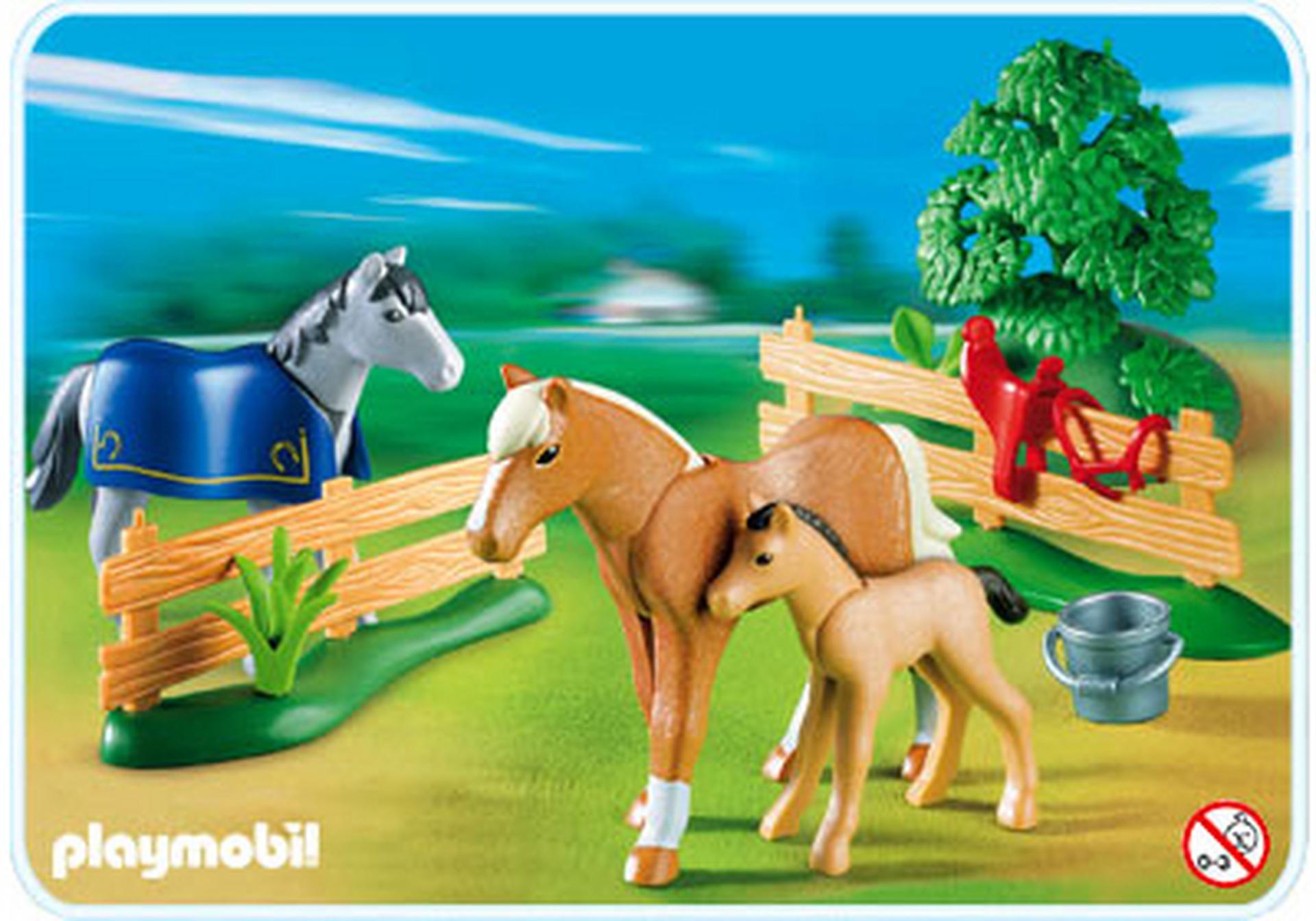 Famille de chevaux 4188 a playmobil france - Pferde playmobil ...