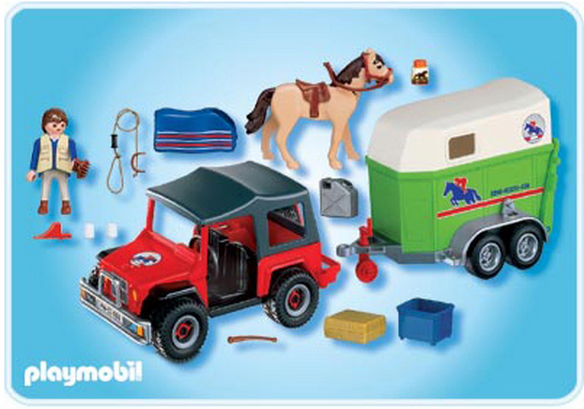 gel ndewagen mit pferdeanh nger 4189 a playmobil