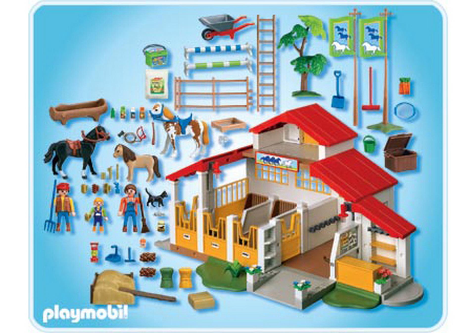 centre questre 4190 a playmobil france. Black Bedroom Furniture Sets. Home Design Ideas