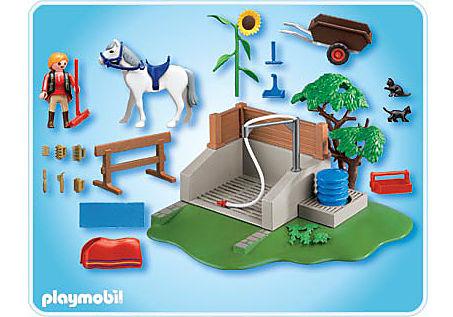 4193-A Pferde-Waschplatz detail image 2