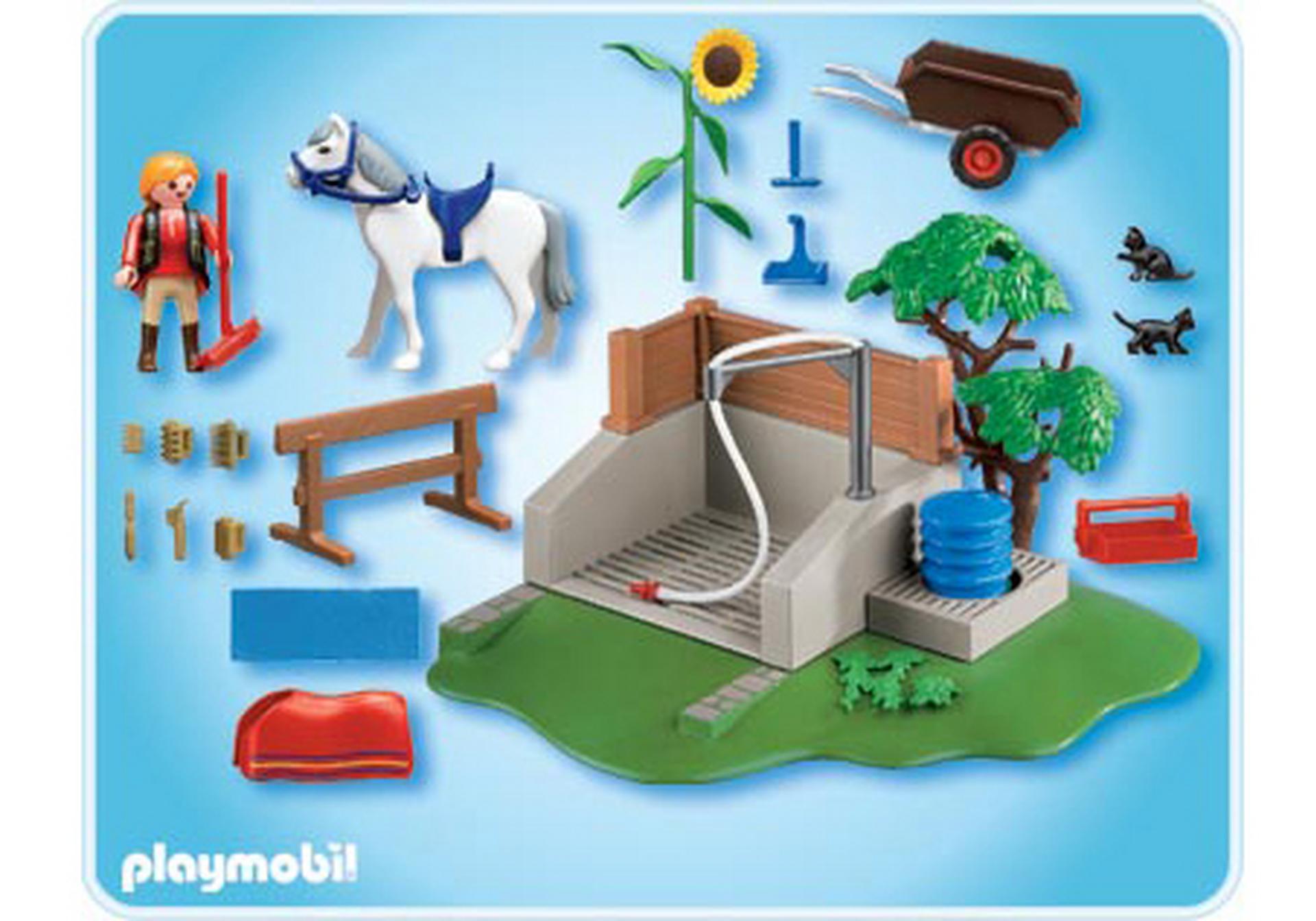 Pferde Waschplatz 4193 A Playmobil Deutschland