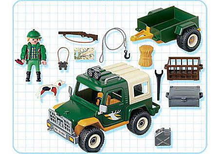 4206-A Forst-Geländewagen mit Anhänger detail image 2