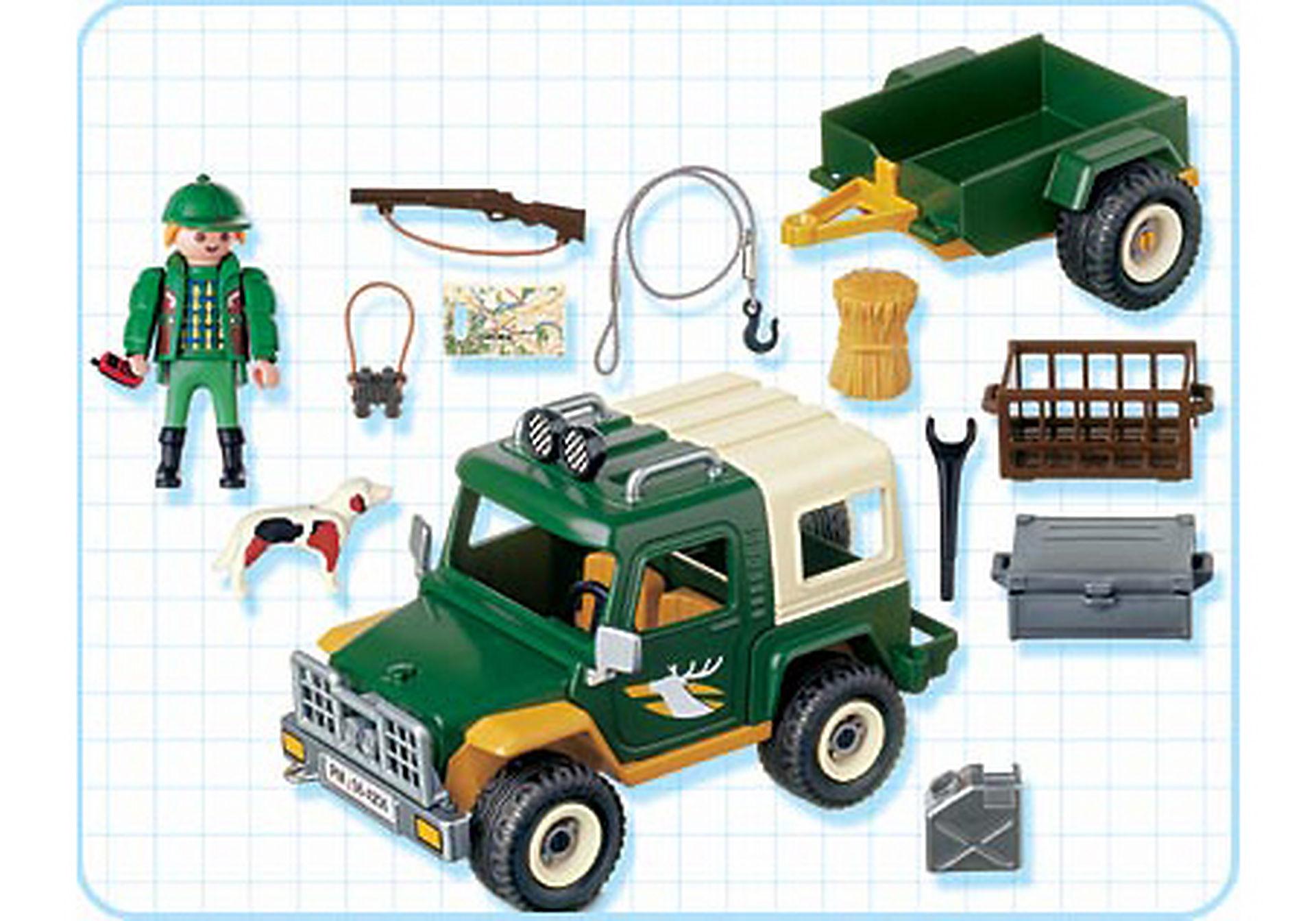 4206-A Forst-Geländewagen mit Anhänger zoom image2
