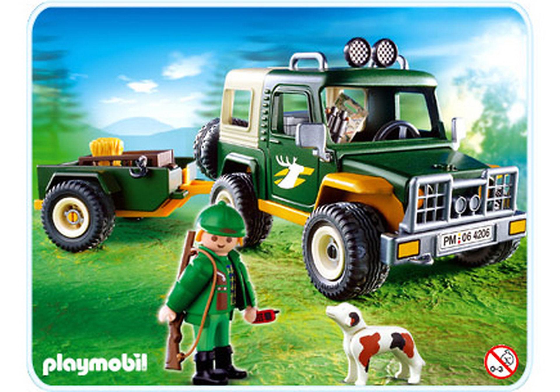 4206-A Forst-Geländewagen mit Anhänger zoom image1