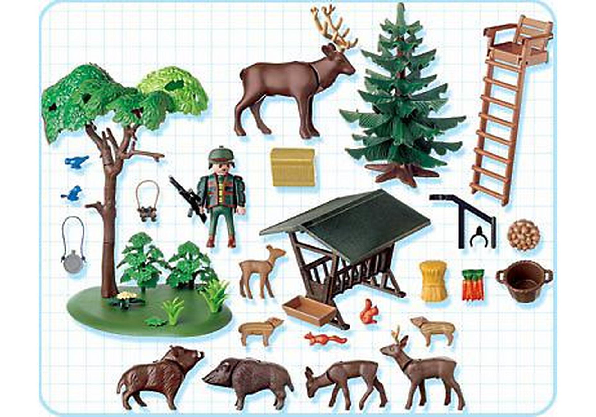 4208-A Garde forestier / animaux / poste de guet zoom image2