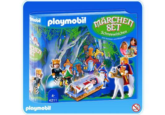 """http://media.playmobil.com/i/playmobil/4211-A_product_detail/Coffret """"Le conte de la trop jolie Princesse"""""""