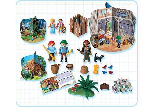 """http://media.playmobil.com/i/playmobil/4212-A_product_box_back/Coffret """"Le conte des enfants dans la forêt"""""""