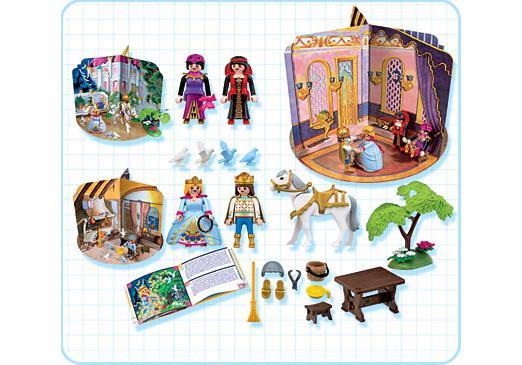 """http://media.playmobil.com/i/playmobil/4213-A_product_box_back/Coffret """"Le conte de la Princesse au soulier"""""""