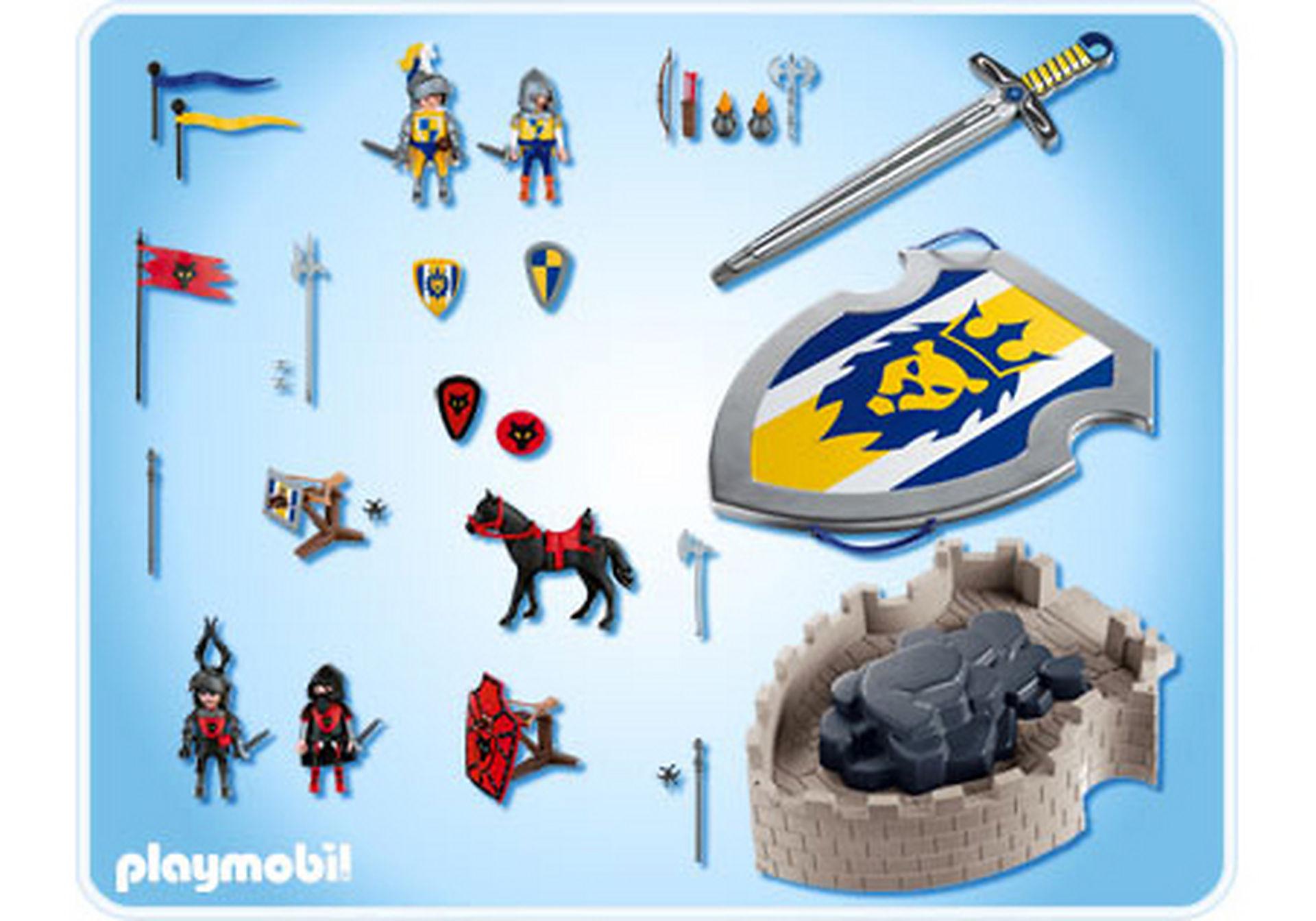 4217-A Mitnehm-Ritterfestung mit Schild und Schwert zoom image2