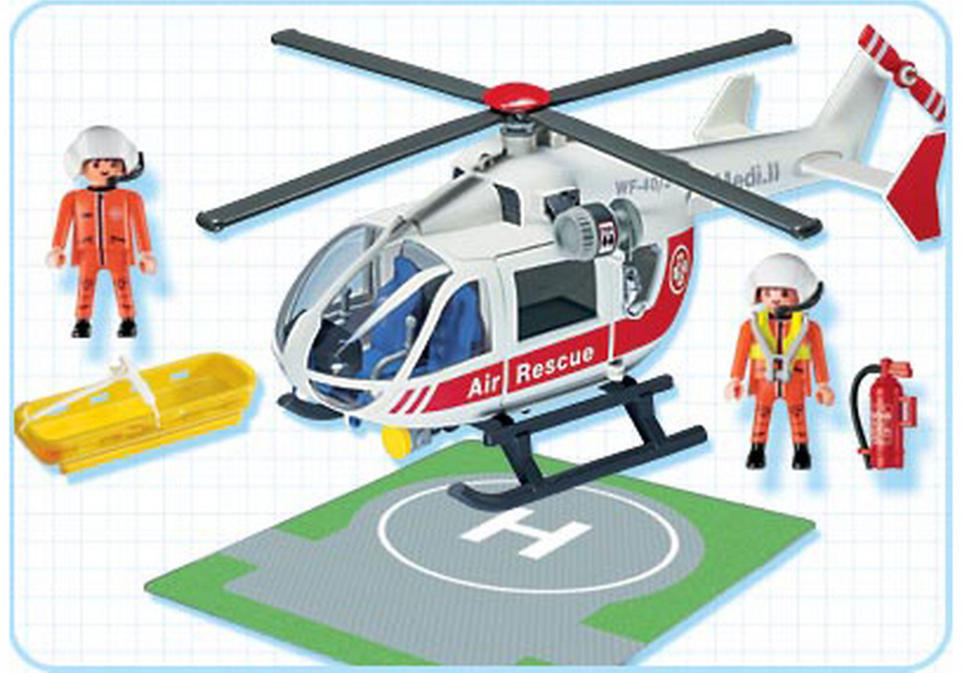 4222-A Sauveteurs / hélicoptère de sauvetage zoom image2