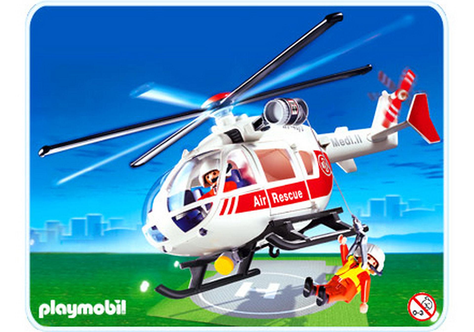 4222-A Sauveteurs / hélicoptère de sauvetage zoom image1