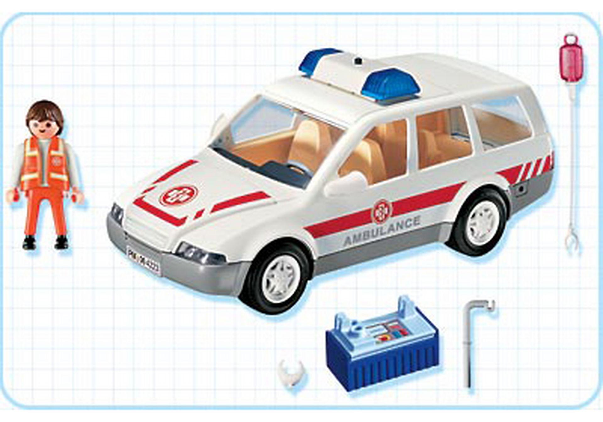 4223-A Ambulancier / voiture d'urgence zoom image2