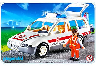 4223-A Ambulancier / voiture d'urgence detail image 1