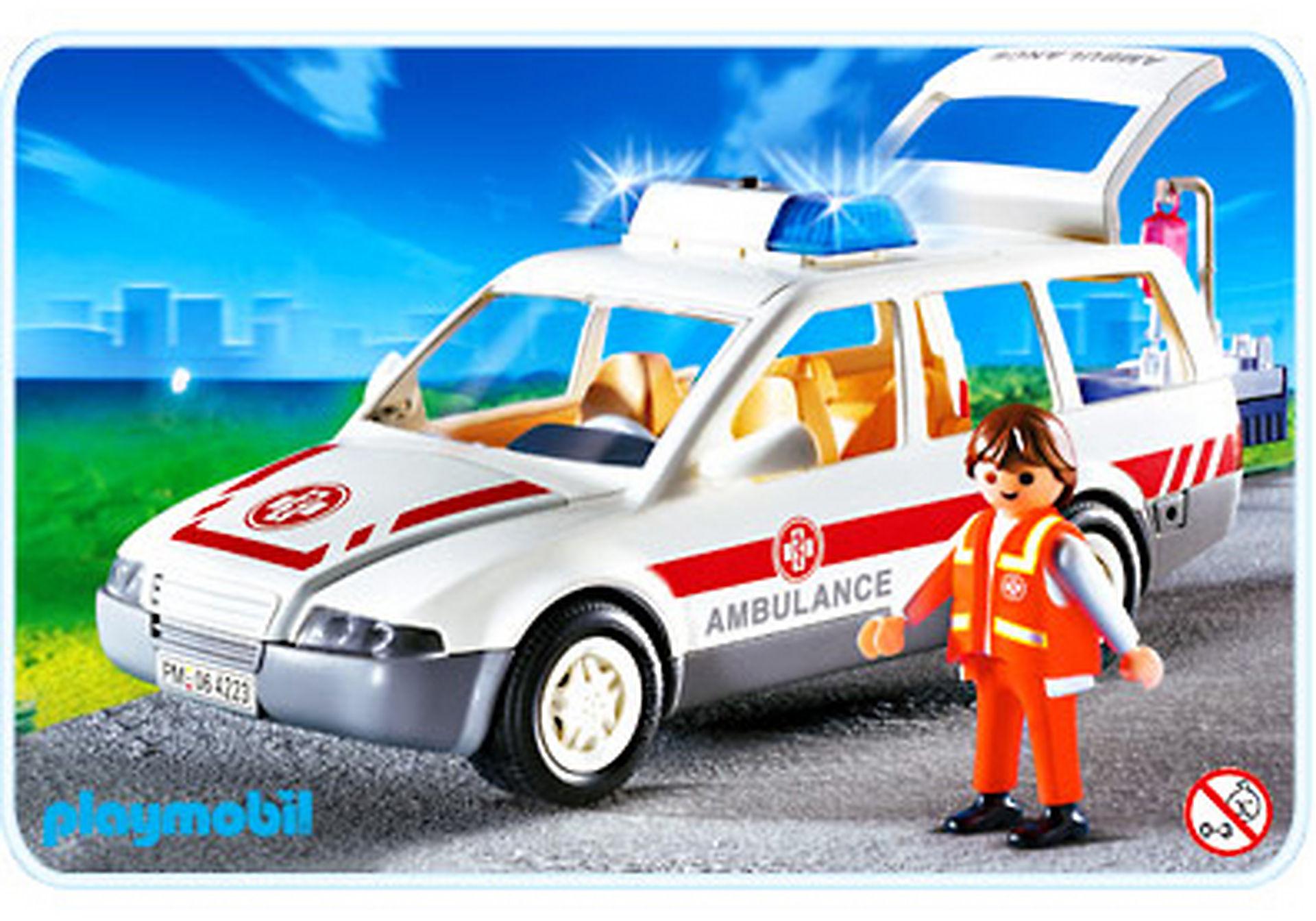 4223-A Ambulancier / voiture d'urgence zoom image1