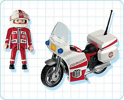 4224-A Notarzt-Motorrad detail image 2