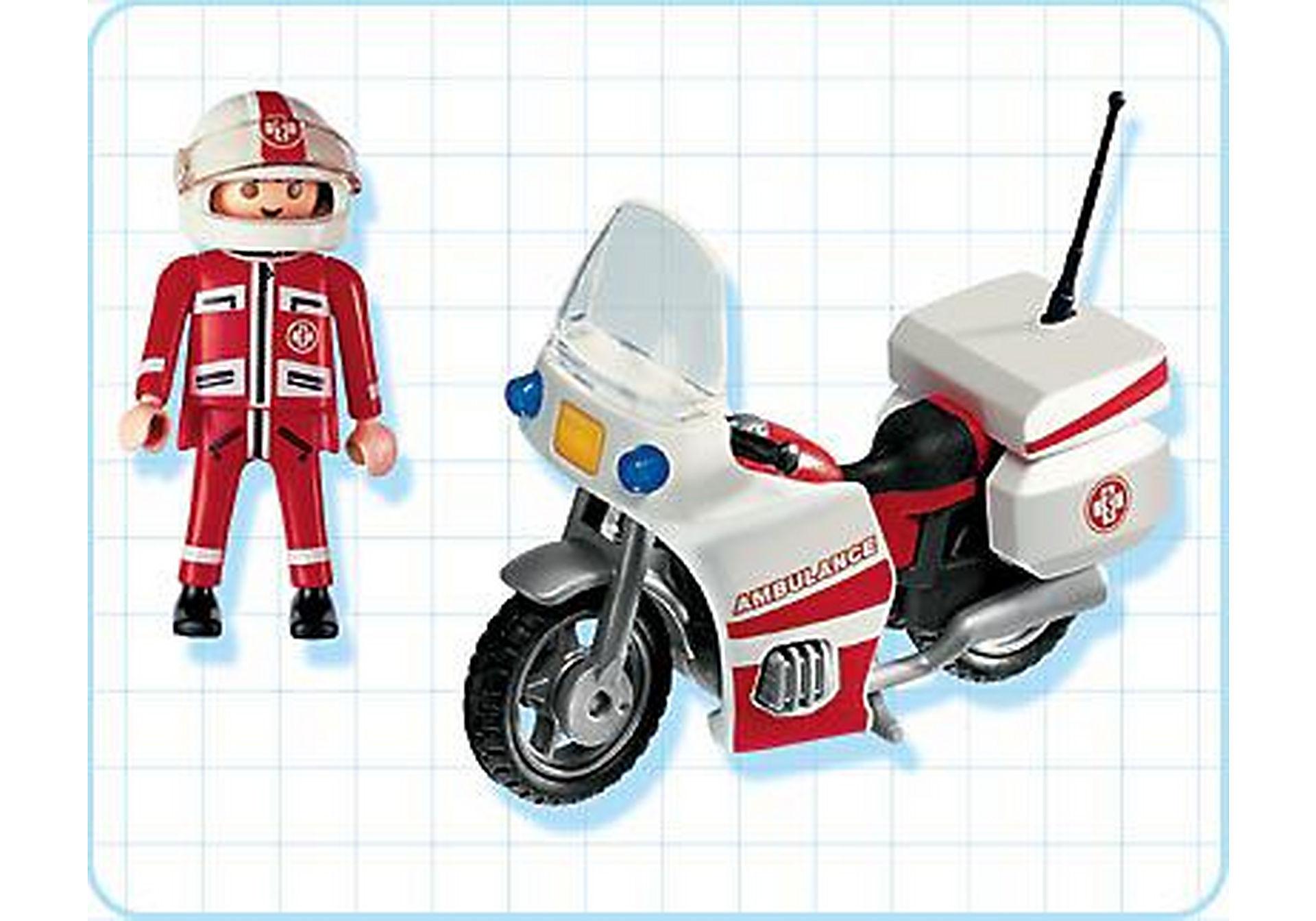 4224-A Notarzt-Motorrad zoom image2