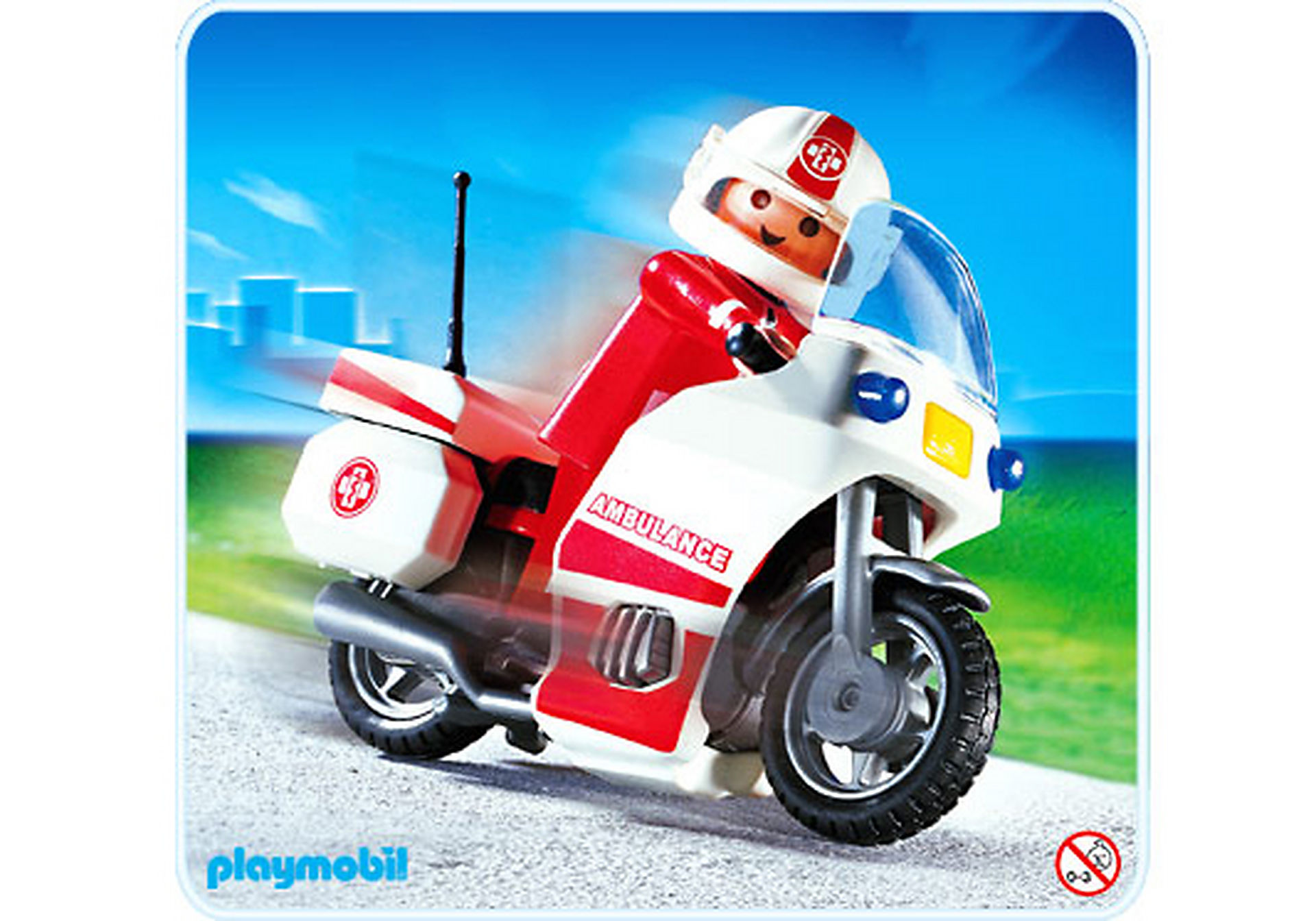 4224-A Notarzt-Motorrad zoom image1