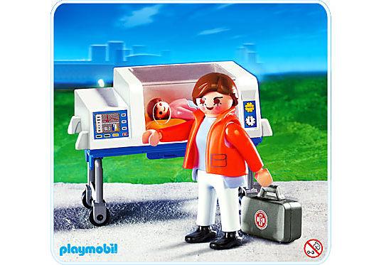 4225-A Baby-Notärztin mit Inkubator detail image 1
