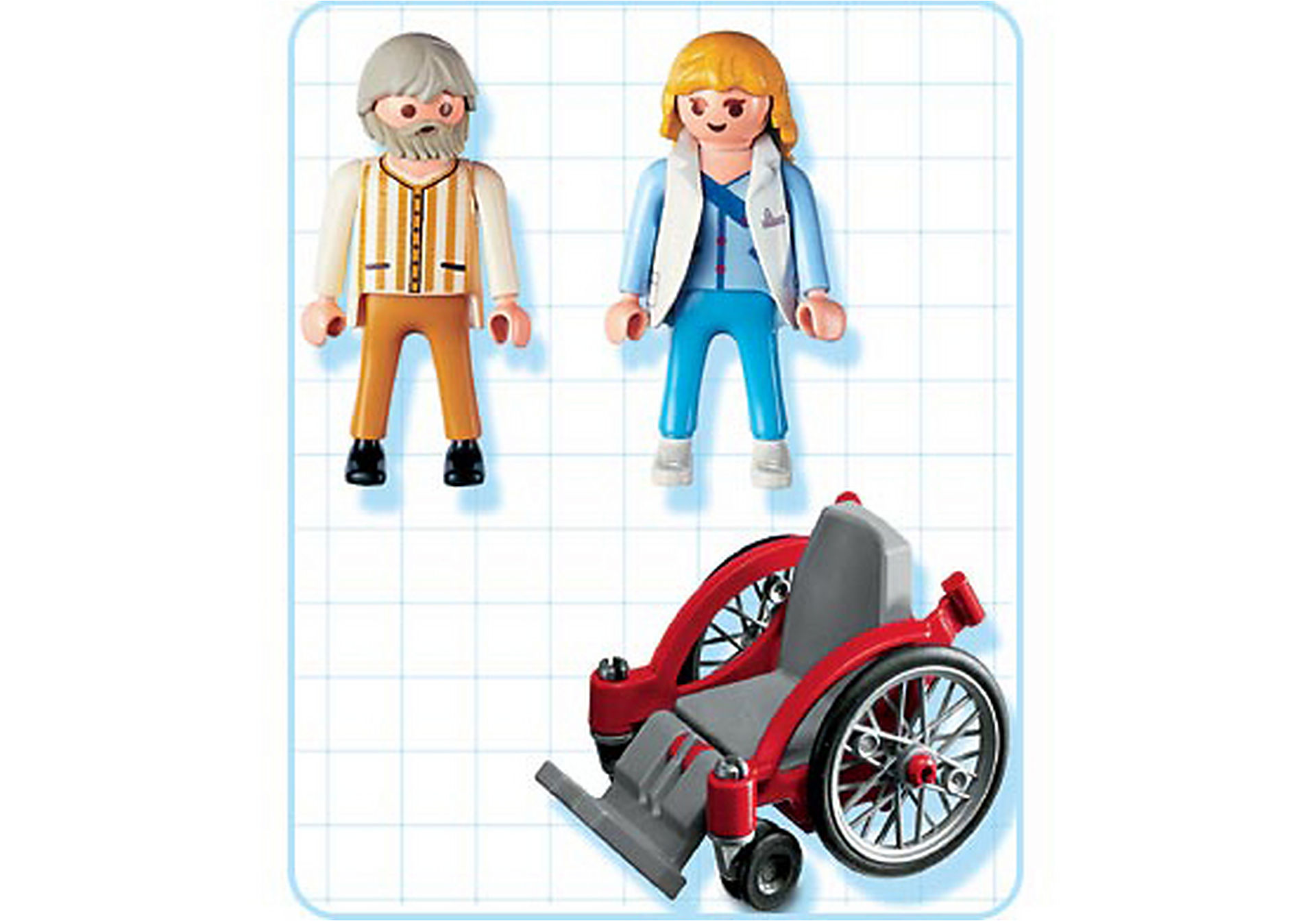 4226-A Pflegerin mit Patient zoom image2