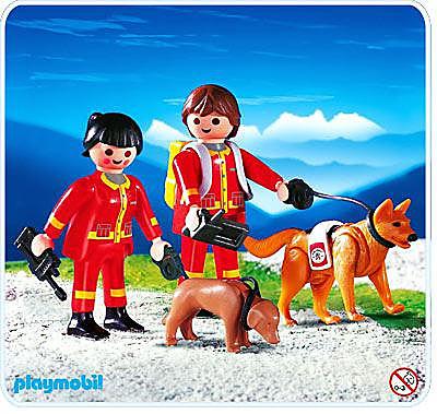 4227-A Secouristes / chiens sauveteurs detail image 1