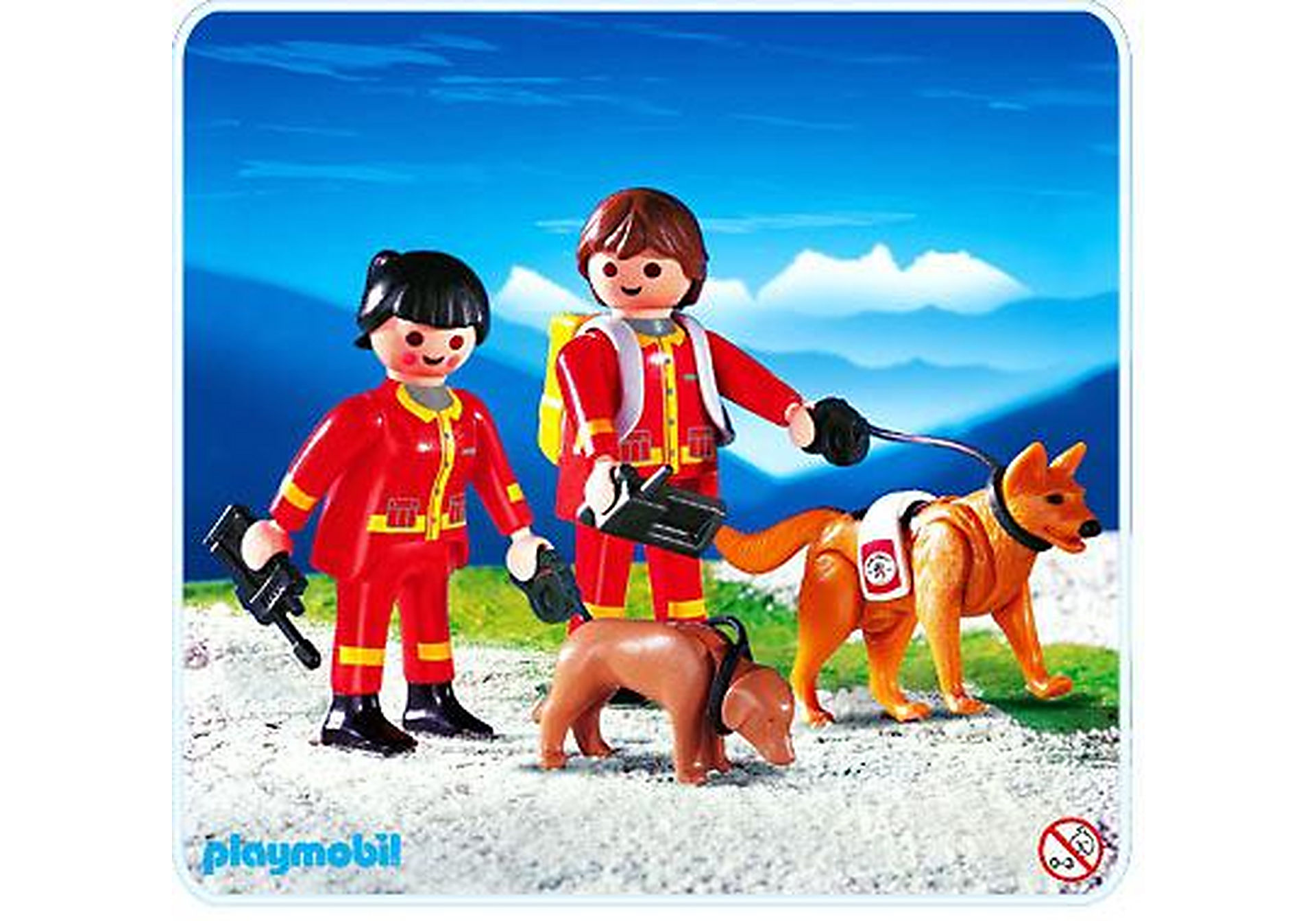 4227-A Secouristes / chiens sauveteurs zoom image1