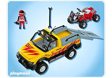 4228-A Pick-Up mit Racing Quad detail image 2