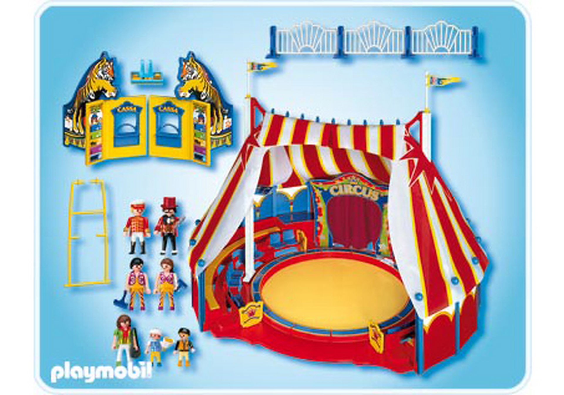 4230-A Grand chapiteau de cirque zoom image2