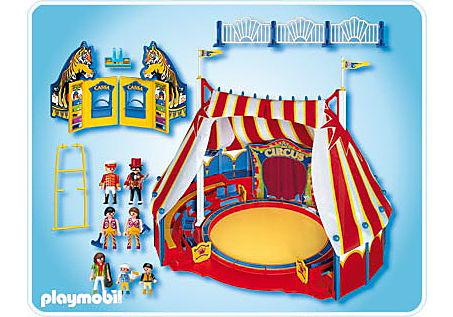 4230-A Großes Zirkuszelt mit LED-Portal detail image 2