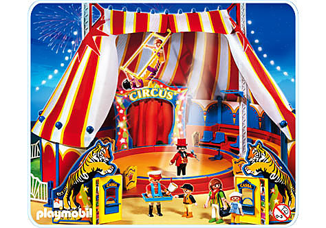 4230-A Grand chapiteau de cirque detail image 1