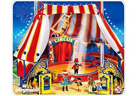 4230-A Großes Zirkuszelt mit LED-Portal detail image 1