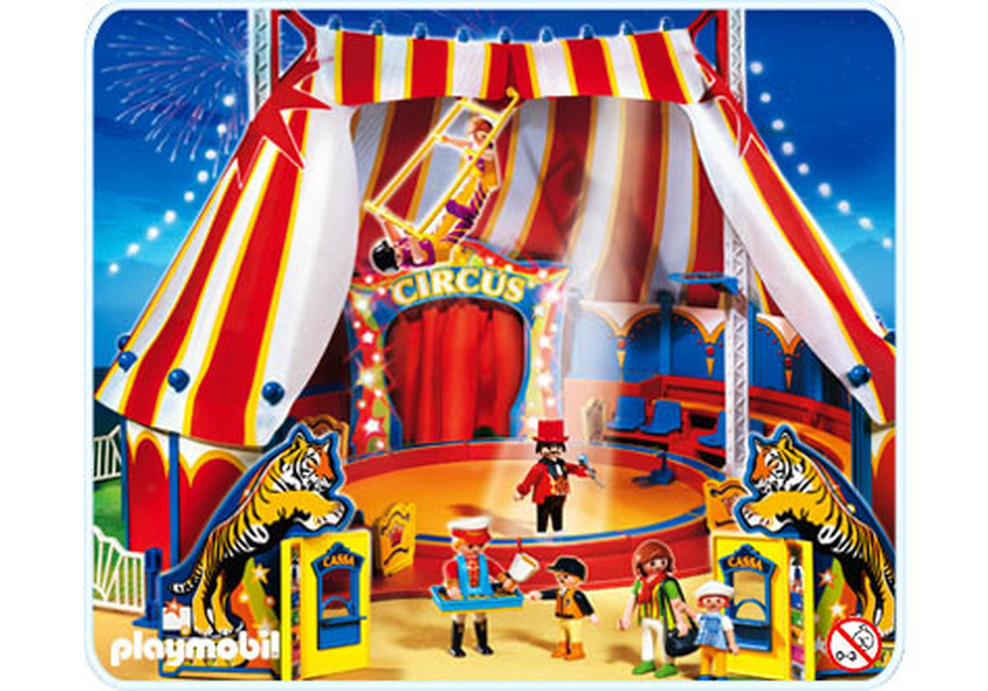 Grand chapiteau de cirque 4230 a playmobil france - Chapiteau cirque playmobil ...