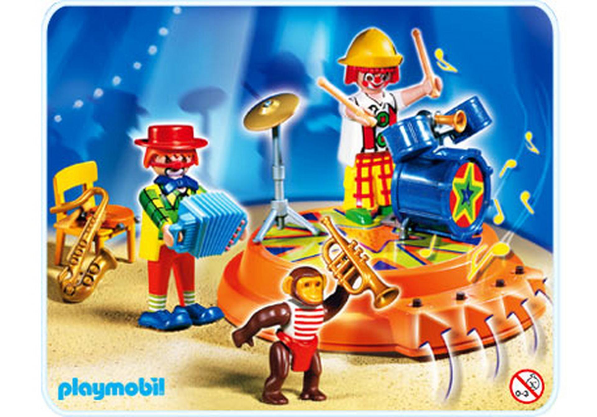 Zirkuskapelle mit 4 fach soundmodul 4231 a playmobil - Cirque playmobil ...