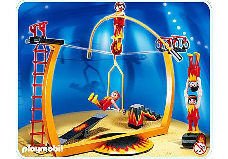 4236-A Funambules avec piste d'acrobaties detail image 1
