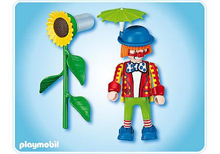 4238-A Clown avec fleur lance-eau detail image 2