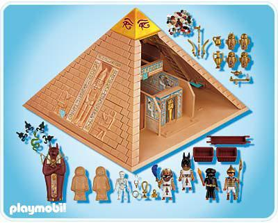 pyramide gyptienne 4240 a playmobil france. Black Bedroom Furniture Sets. Home Design Ideas