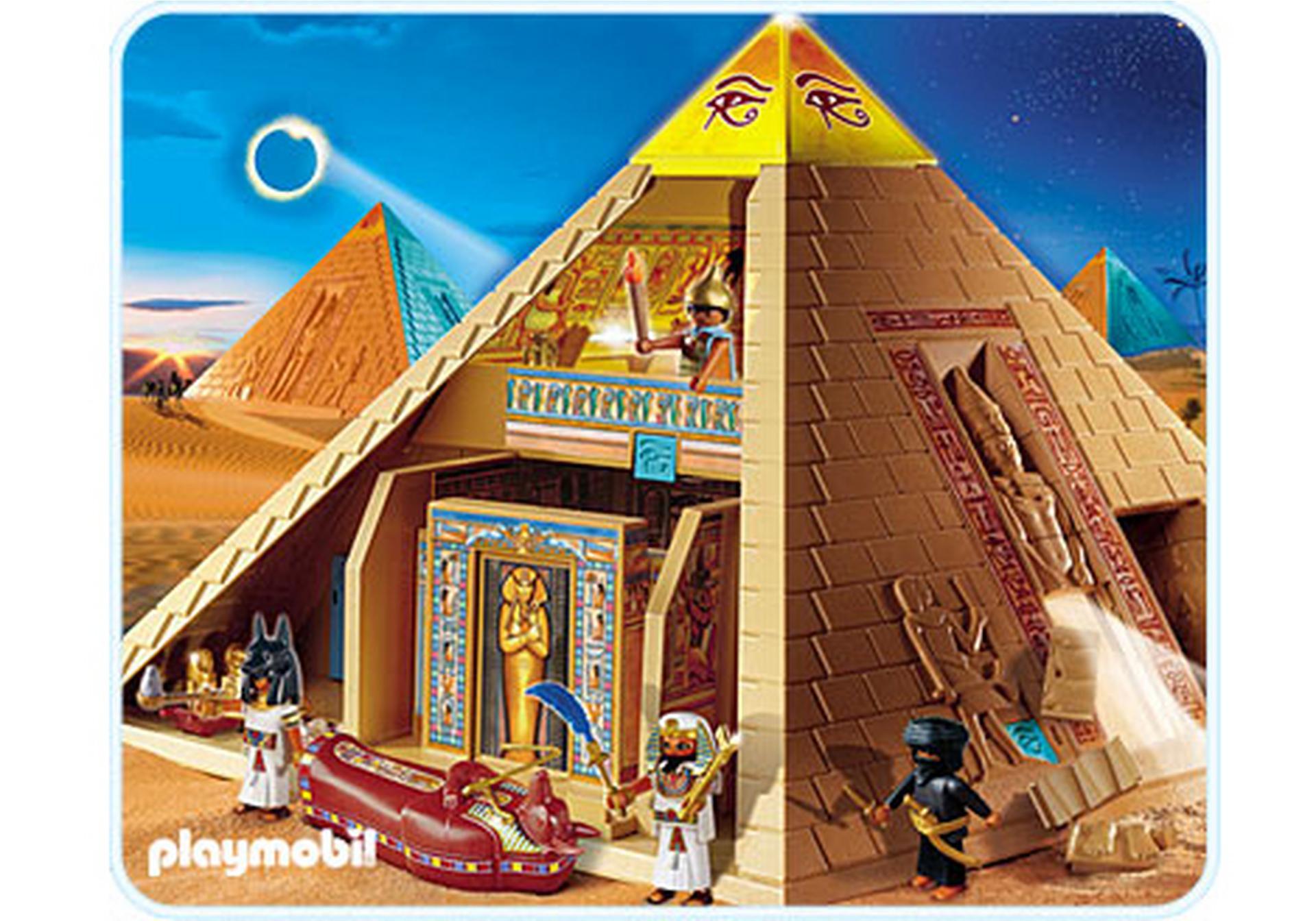 Pyramide gyptienne 4240 a playmobil france - Egypte playmobil ...