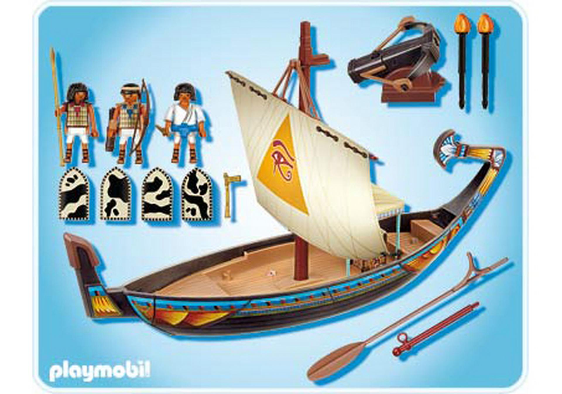 Barque gyptienne 4241 a playmobil france - Egypte playmobil ...