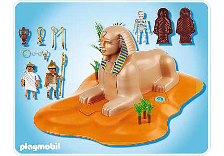 4242-A Sphinx mit Mumienversteck detail image 2