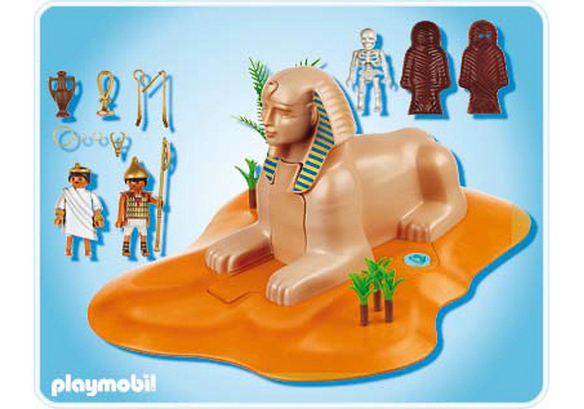 4242-A Sphinx mit Mumienversteck zoom image2