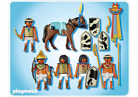 4245-A Soldats égyptiens detail image 2