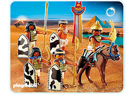 4245-A Ägyptische Soldaten detail image 1