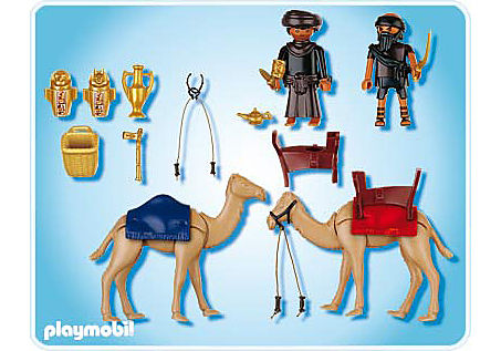 4247-A Grabräuber mit Kamelen detail image 2