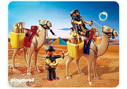4247-A Grabräuber mit Kamelen detail image 1