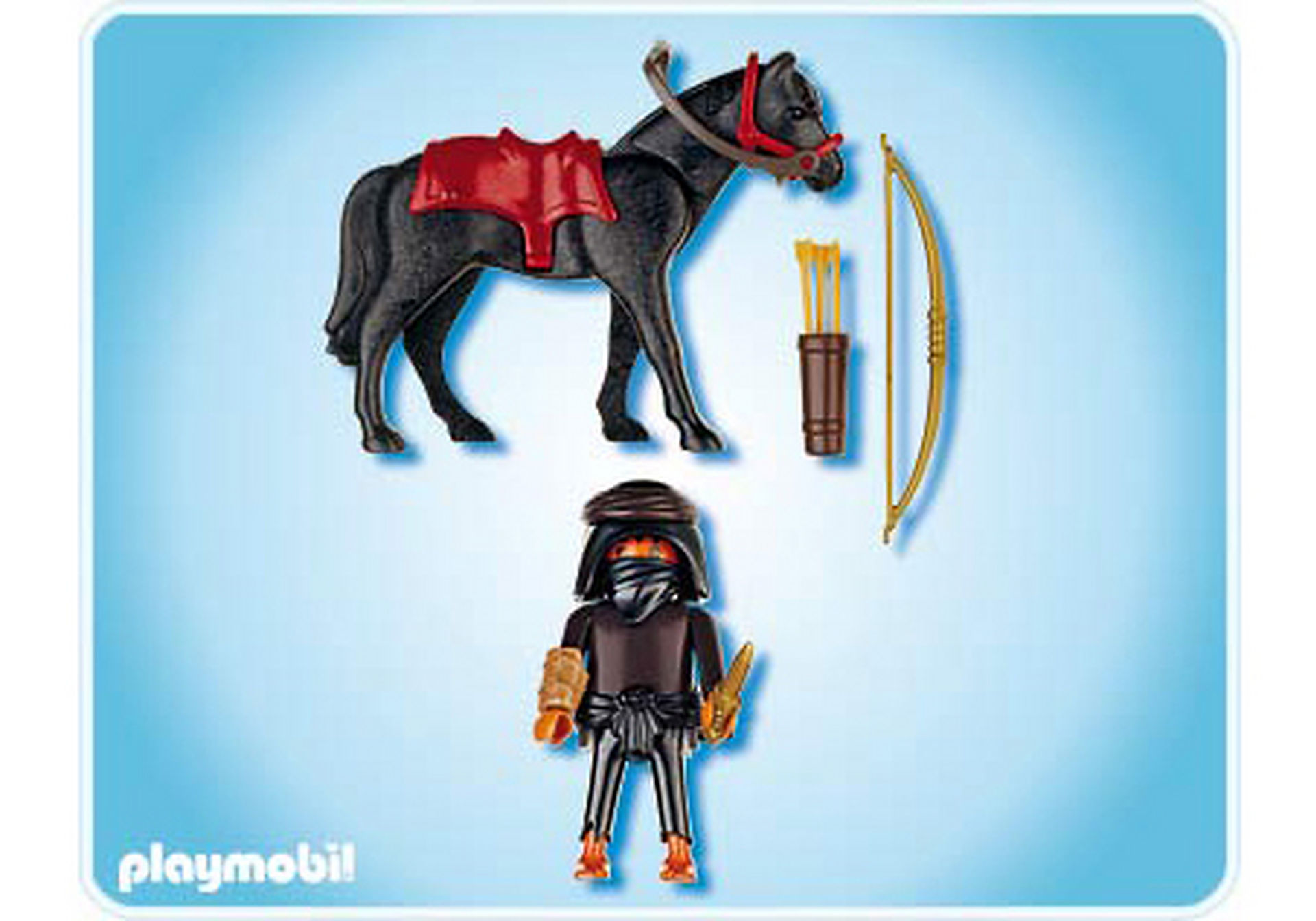 4248-A Grabräuber mit Pferd zoom image2